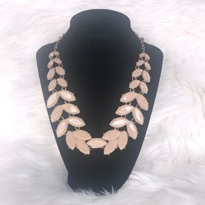 Nude Necklace w/ Gold Hardware & adjustable length